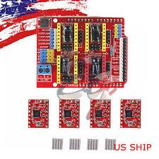 CNC kit #2 1X Shield & 4X A4988 Drivers for Arduino UNO R3 ATmega328P CH340G