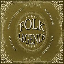 Folk Legends - Woody Guthrie; Joan Baez; Pete Seeger; The Weavers