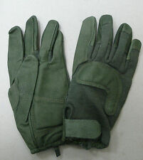 HWI US ARMY COMBAT GLOVE HCG 0014 GOATSKIN LEATHER FOLIAGE GREEN NEW MEDIUM