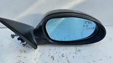 GENUINE BMW E90 O.S DRIVER SIDE ELECTRIC WING MIRROR BLUE 7075626 7906930