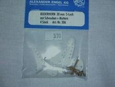 Ruderhorn 30 mm 5 Loch mit Schrauben 4 Stück Engel 306