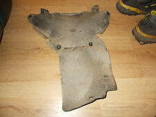 ktm gs 125 77 78 79 gs125 leather shock guard very rare penton twinshock