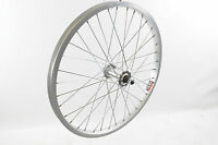 "FRONT DIAMOND BACK 20"" BMX ALLOY WHEEL ALLOY SILVER 36 SPOKE 3/8"" AXLE NEW"