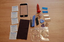 iphone 5 5c 5s  front glass repair kit black,loca glue,wire,more