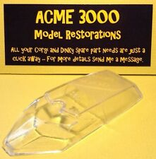 Gerry Anderson Dinky 103 SPC Replacement Repro Window Glass Unit