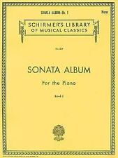 Sonata Album for the Piano - Book 1: Piano Solo by