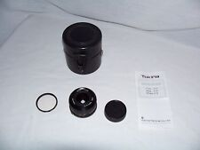 Tokina 28mm f/2.8 Camera Lens for Olympus 1:2.8 with Case & Hoya 49mm Filter