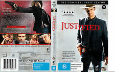 Justified-2010-Complete First Season-TV Series USA-3 Disc Set-DVD