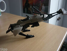 Vintage star wars speeder bike vehicle complete with both rear brake flaps 1983