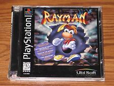 RAYMAN PLAYSTATION PS1 PS2 PSX RARE BLACK LABEL MINT 1995