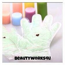 Paraffin WAX Hand GLOVES (1 Pair) Reusable Up To 5 TIMES..INCLUDES FREE EYE MASK