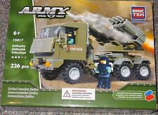 Rocket Launcher Justice BricTek Building Block Construction Toy Army Brick Truck