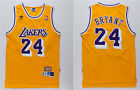 NBA Kobe Bryant #24 Los Angeles Lakers RETRO Yellow swingman jersey - S/M/L