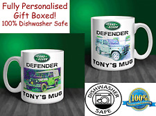 Landrover Defender 90 Personalised Ceramic Mug Gift. (C010)