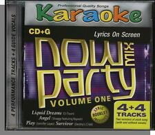 Karaoke CD+G - Now Party Mix Vol 1 - New 4 Song CD! Angel, Play, Survivor