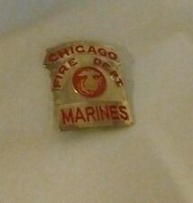 Chicago Fire Department Marine Corps Novelty Badge