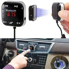 Dual USB Hands-free Wireless Bluetooth FM Transmitter Car Kit MP3 Music Player