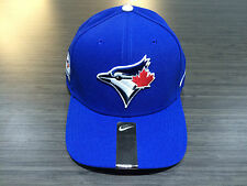 Toronto Blue Jays MLB Baseball Hat Cap Dri Fit 40th Season Patch Adjustable