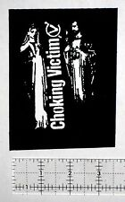 CHOKING VICTIM DIY Patch- Punk Crust Leftover Crack Star Hipsters Citizen Fish