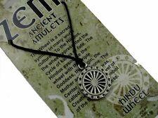 Hindu Wheel, Ancient Zemi Amulet Pewter Pendant #HC-ZEMI06