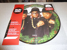 "RUN DMC - Christmas In Hollis / Peter Piper - 12"" PICTURE Vinyl // Neu"