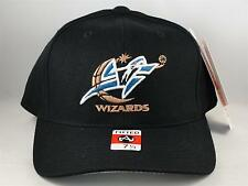 NBA Washington Wizards Vintage American Needle Black Fitted Hat Cap Size 7 1/4