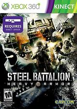 Steel Battalion Heavy Armor KINECT XBOX 360 CAPCOM NEW! WARFARE, WAR DUTY CALL