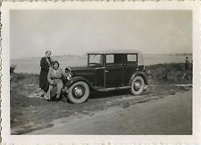 PHOTO ANCIENNE - VINTAGE SNAPSHOT - VOITURE AUTOMOBILE PEUGEOT - CAR 1936