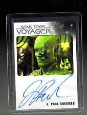 Star Trek Voyager Heroes and Villains J.Paul Boehmer auto. card