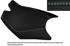 DESIGN 3 GRIP VINYL WHITE DS ST CUSTOM FITS KTM RC8 FRONT RIDER SEAT COVER