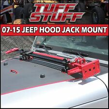 2007-2014 JK JEEP WRANGLER HOOD HINGE JACK MOUNT FOR HI LIFT & FARM JACK