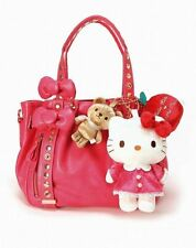 Brand New Samantha Thavasa Hello Kitty Aimee Tote Bag in Hot Pink