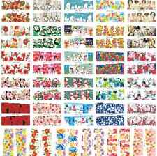 Full Wrap Nail Art Sheet Water Decal Transfer Decoration Sticker Polish Bulk Lot