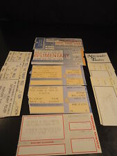 BROADWAY Lot of 11 Ticket Stubs 1981 - 2000 CATS SCARLET MOON OVER BUFFALO...