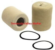 "Set of 2 ""Sock-Type"" Oil Filter Cartridges for 1954-1960 Dodge Trucks"