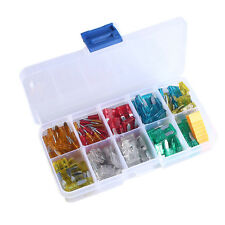 120pcs 5A 10A 15A 20A 25A 30A Car Assortment Auto Mini Blade Type Fuse Kit