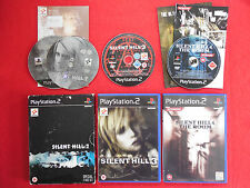 Silent hill 2 + 3 + 4 chambre ~ PlayStation 2 ~ collection!!! ~ horreur/action