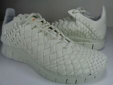Nike Free Inneva Woven Tech SP Sea Glass Kumquat White SZ 9 (705797-008