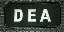 D.E.A LETTERS (POLICE) PATCH
