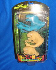 Godzilla Glow in the Dark Finger Puppet Set MOC