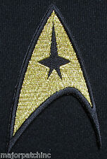 STAR TREK INSIGNIA COMMAND EMBLEM LOGO HALLOWEEN COSTUME IRON ON EMBLEM PATCH