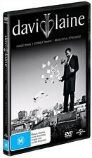 David Blaine - Street Magic / Beautiful Struggle / Magic Man - DVD Region 4
