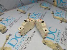 ABB S281 K1 6 A 1 POLE CIRCUIT BREAKER LOT OF 2