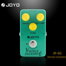 Joyo JF-01 Vintage Overdrive Electric Guitar Effect Pedal Green True Bypass 9V