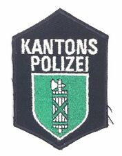 KANTONS POLIZEI Swiss Police Patch Collectible Switzerland