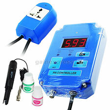 Digital PH Controler Meter Tester + Replaceable BNC Electrode 110V CO2 Solution