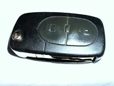 GENUINE VW 2 BUTTON FLIP REMOTE KEY FOB for GOLF PASSAT, BORA to 2000, 433Mhz