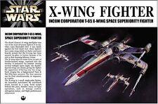 NEW Fine Molds 1/72 STAR WARS X - WING FIGHTER SW-1 Luke Skywalker Japan