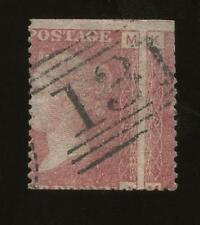 PENNY RED Pl.179 ERROR...LARGE MISPERFORATION..used in SCOTLAND