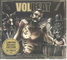 """VOLBEAT """"Seal The Deal & Let's Boogie"""" Deluxe Limited Edition 2 CD sealed"""